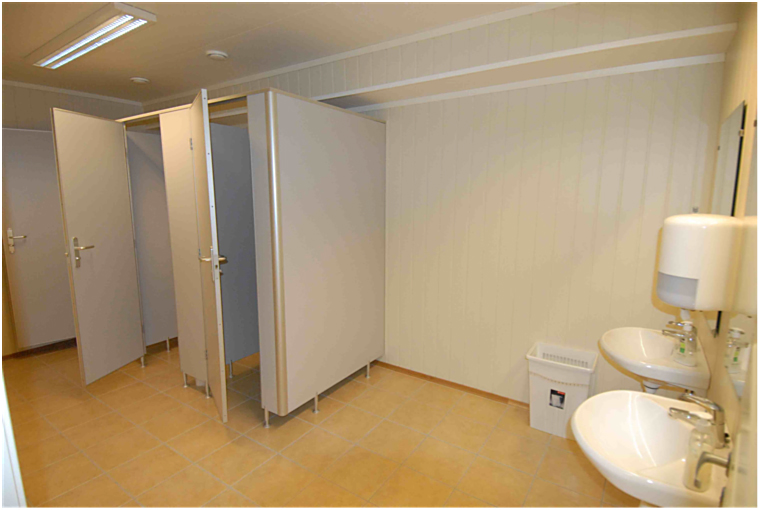 Toaletter i kjeller
